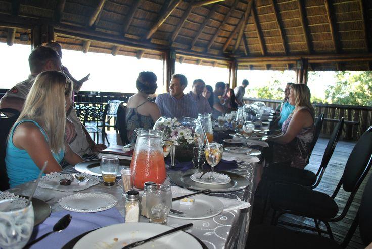 #Bridal Couple 2013: The winners were announced the following morning at a fancy breakfast at #Thaba Tshwene #Game #Lodge www.thabatshwene.co.za