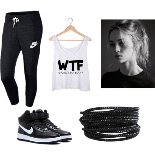 HipHop dancer outfit #2 by proud-hiphop-dancer on Polyvore featuring polyvore fashion style NIKE Pieces