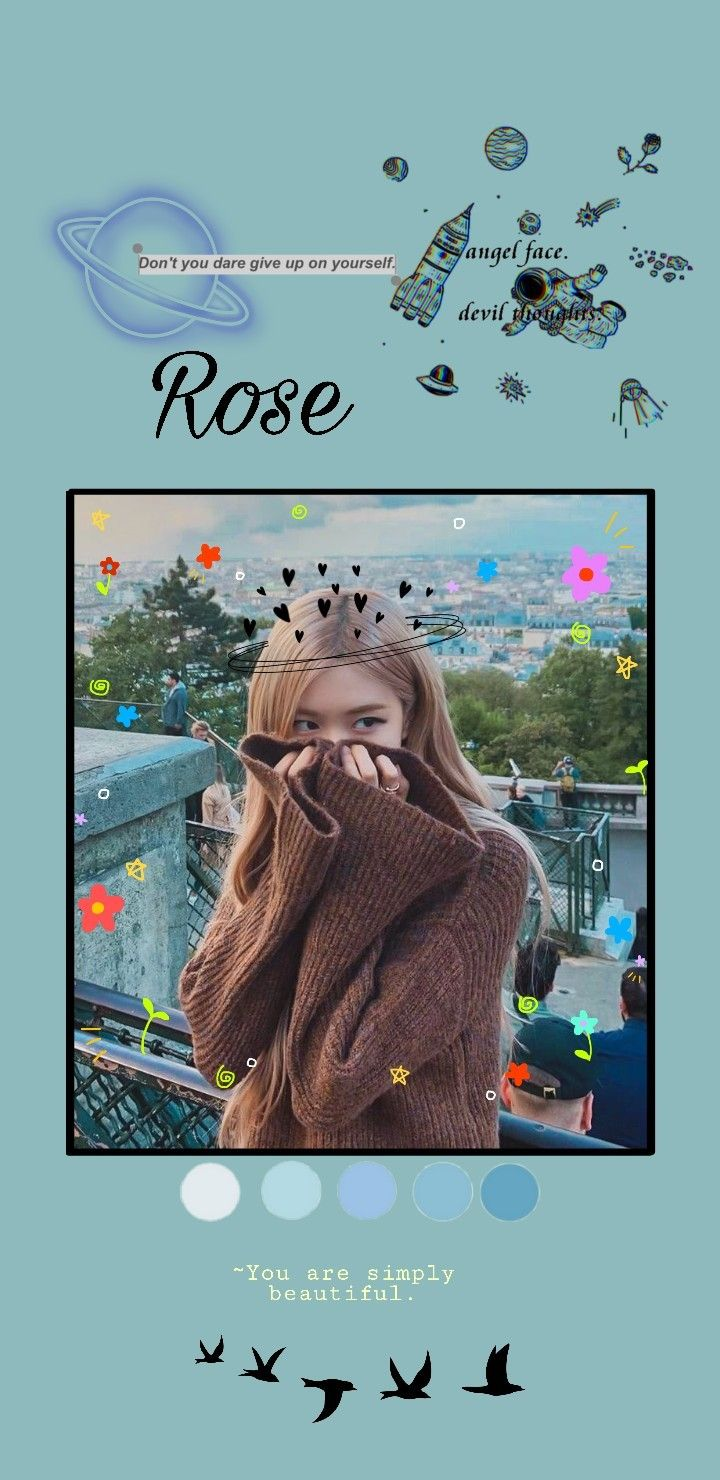 Wallpaper Rose blackpink