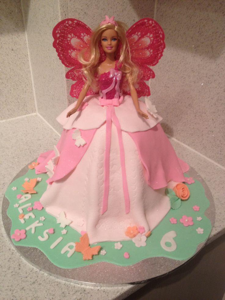 Barbie cake for my goddaughter ❤️❤️