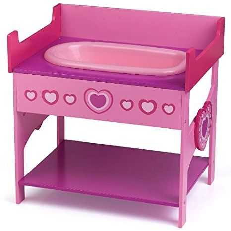 Dolls World Bath and Changing Table