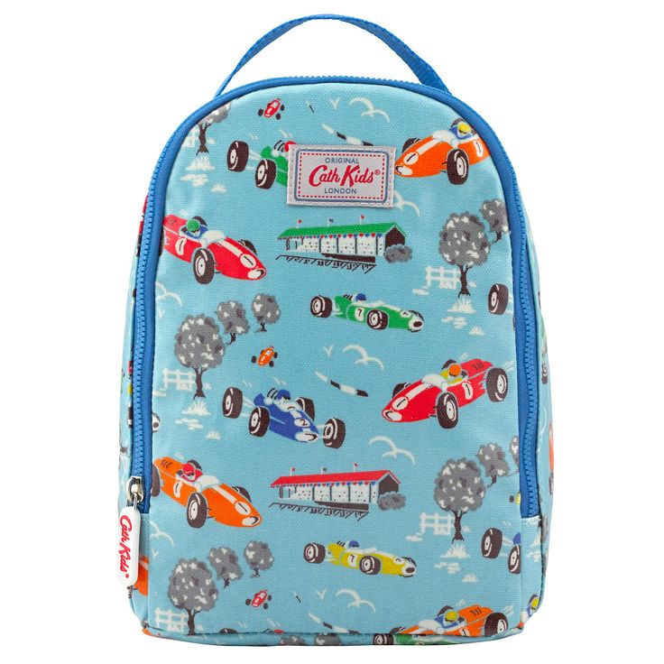 Racing Car Kids Lunch Bag | Cath Kidston |