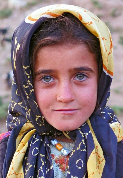 Iranian Village Girl Islamic Republic Of Iran South
