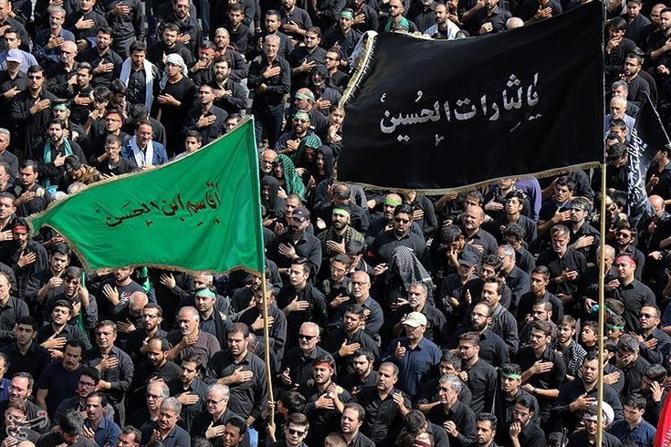 Ashura in Iran | #Shia muslims dressed in black mark the martyrdom anniversary of Imam #Hussain on the day of #Ashura in #Iran | #Islam #ashuraaa