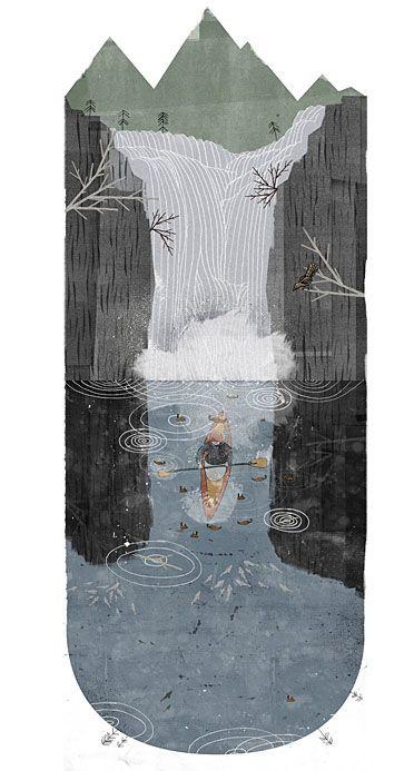 art: Iphone Wallpapers, Illustrations Art, The Artists, Gemmel Waterf, Art Design, Richgemmel, Waterf Illustrations, Rich Gemmel, Gemmel Illustrations