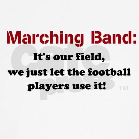 My band actually paid for over half of the field, so yeah we just let them use it.