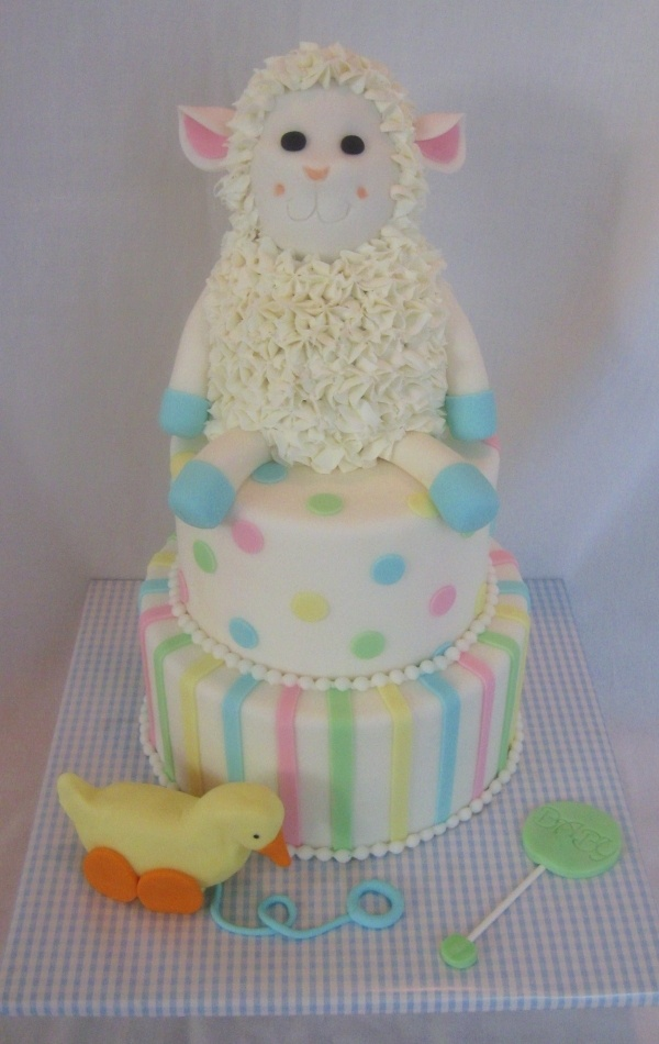 about lamb baby shower on pinterest lamb cake themed baby showers