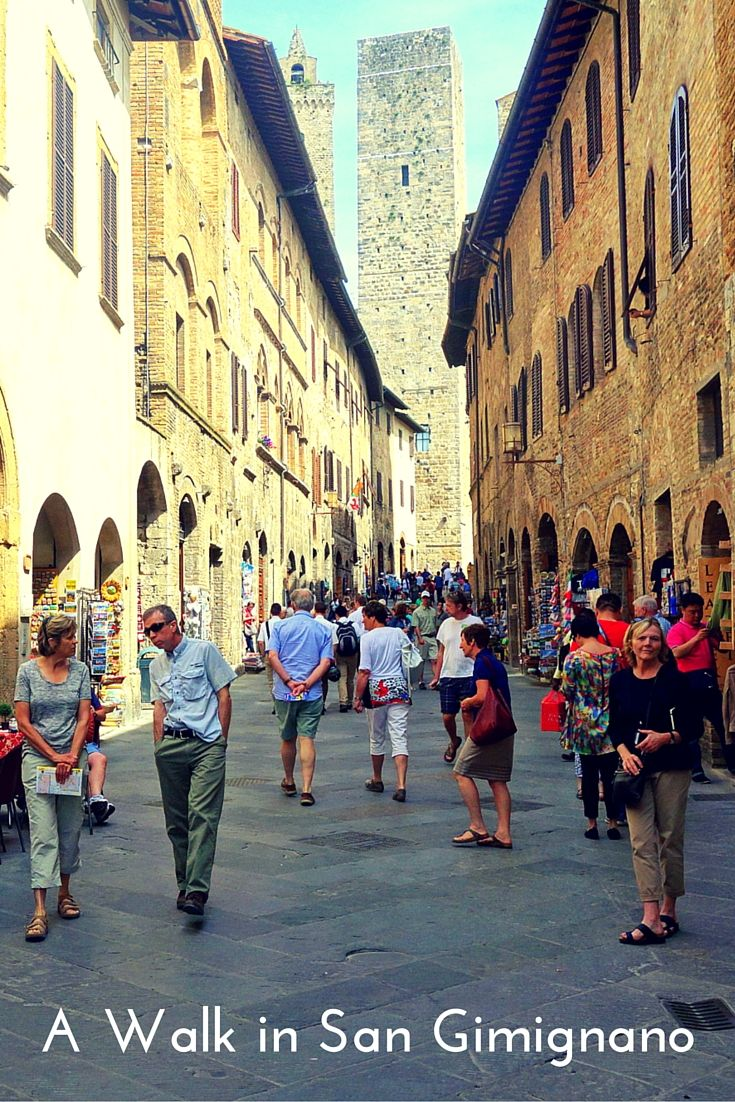 Visiting the medieval hilltop towns of Tuscany -- San Gimignano and Certaldo Alta. Also a touch of the Tuscan good life at a luxury villa in Montespertoli, Italy