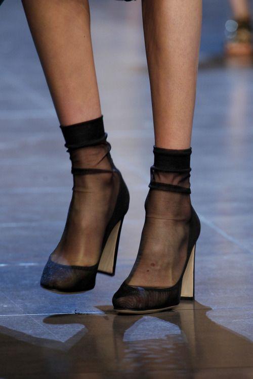 evening socks#Fashion Gone rouge