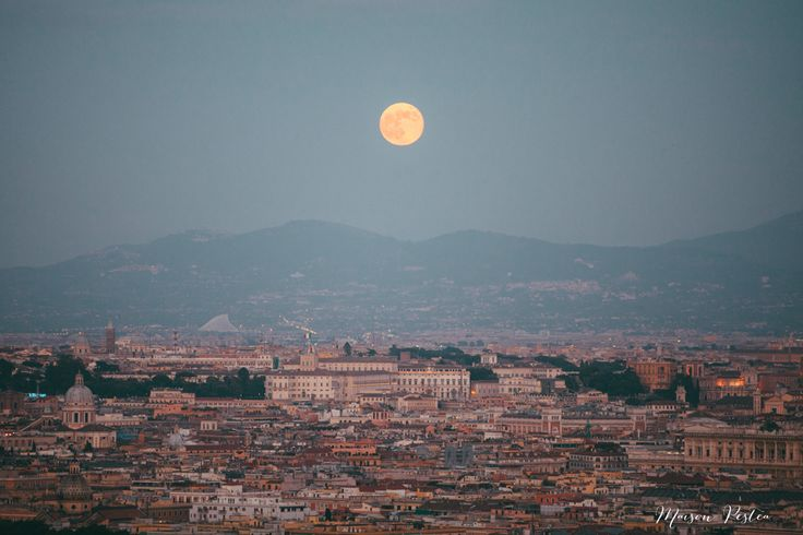 (Villa Miani – Rome) La super lune – super moon in Rome – wedding photographer Rome