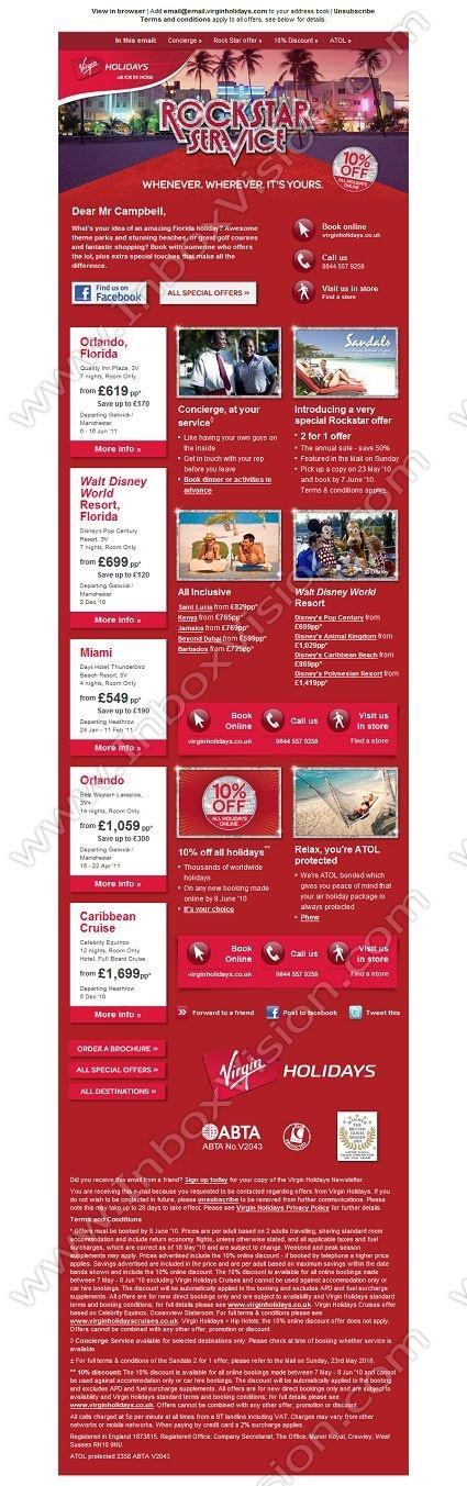 Best Email Design Virgin Images On   Email Design