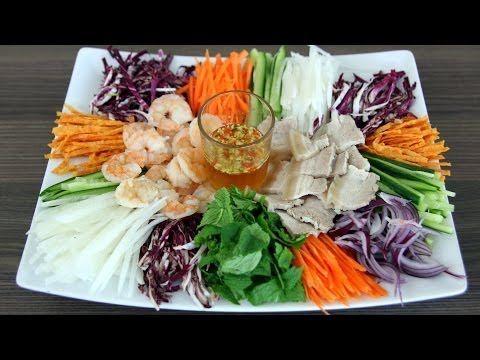 ▶ Vietnamese Combo Salad (Gỏi thập cẩm) & Wedding Menu - YouTube