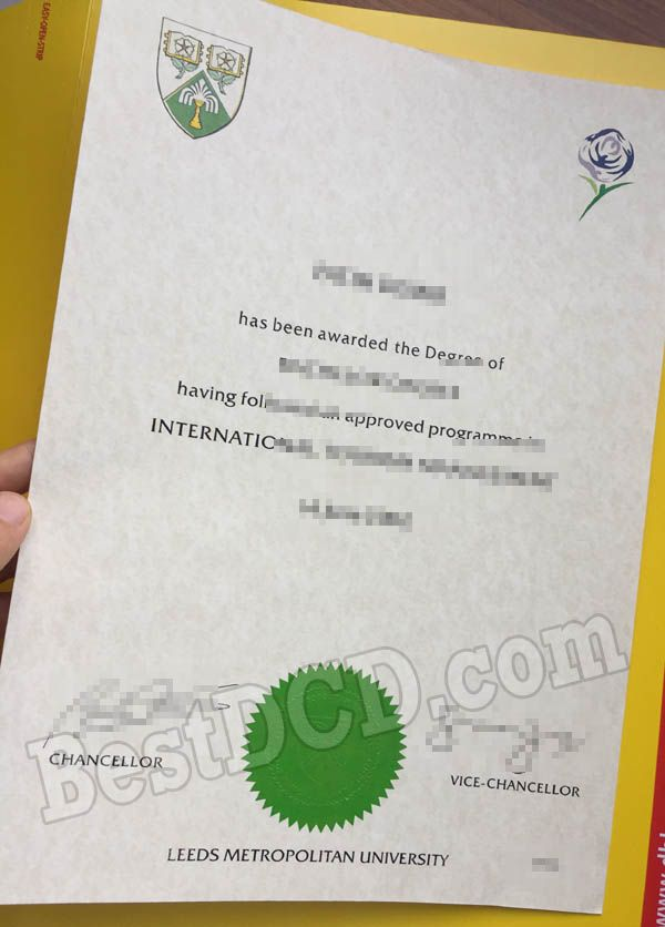 Leeds Metropolitan University Fake Degree Fake Certificate The