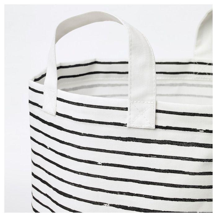 Klunka Laundry Bag White Black 16 Gallon White Bag Laundry