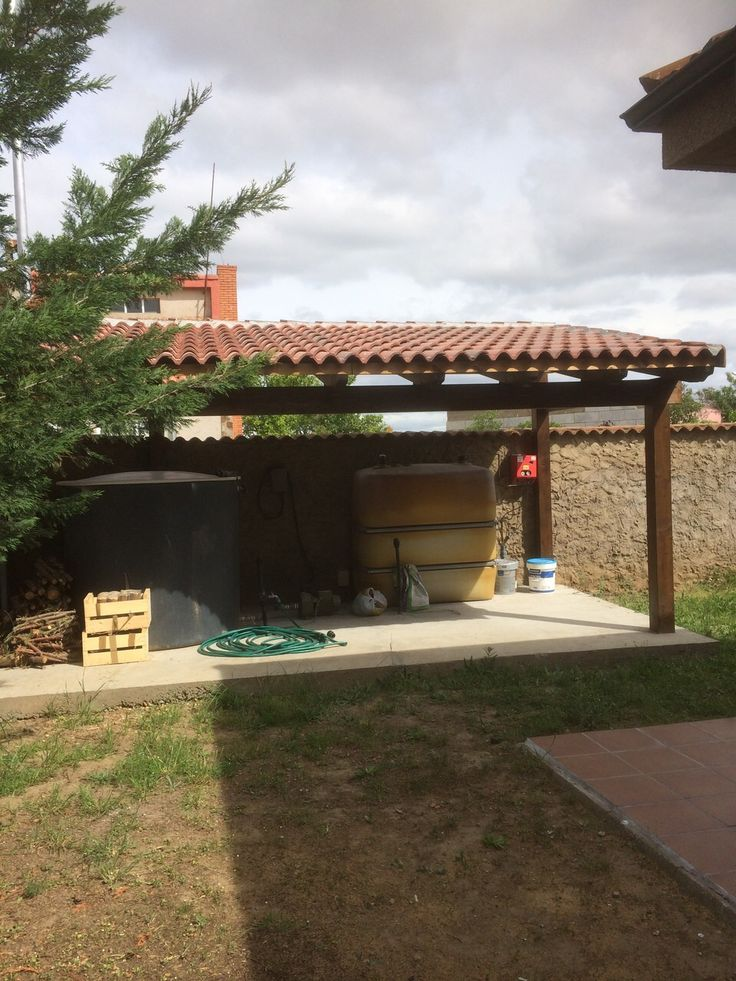 en ocasiones necesitamos un techo bajo el cual resguardar cosas lea maquinaria