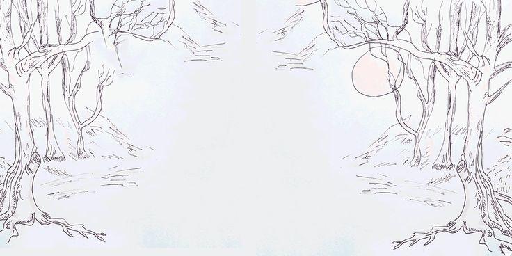 Viernes de Autores amigos OMG: Noches de luna escrito por Efe Restrepo e ilustrado por mí.