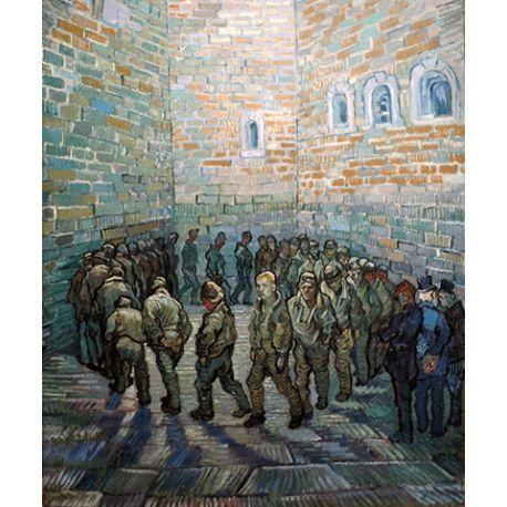 Reprodukcje obrazów Vincent van Gogh Walk prisoners - Fedkolor