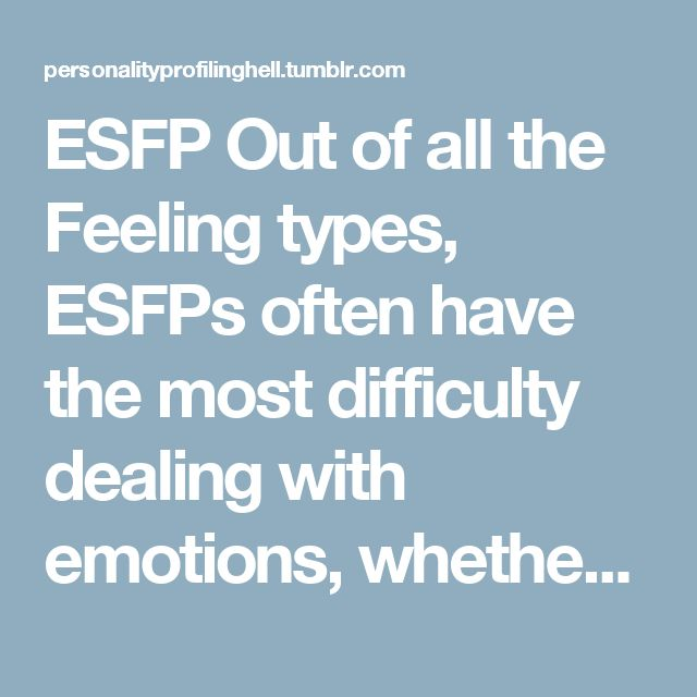Esfp dating tips #5
