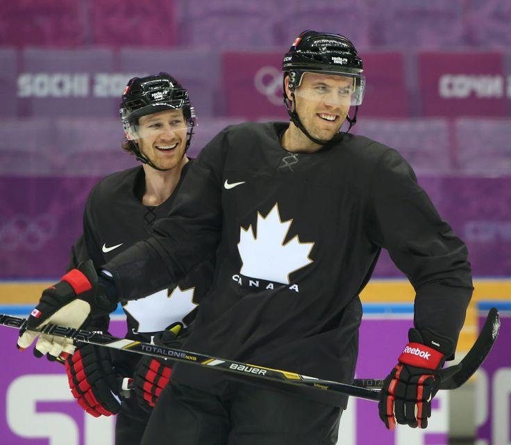 Shea Weber and Duncan Keith, Sochi 2014