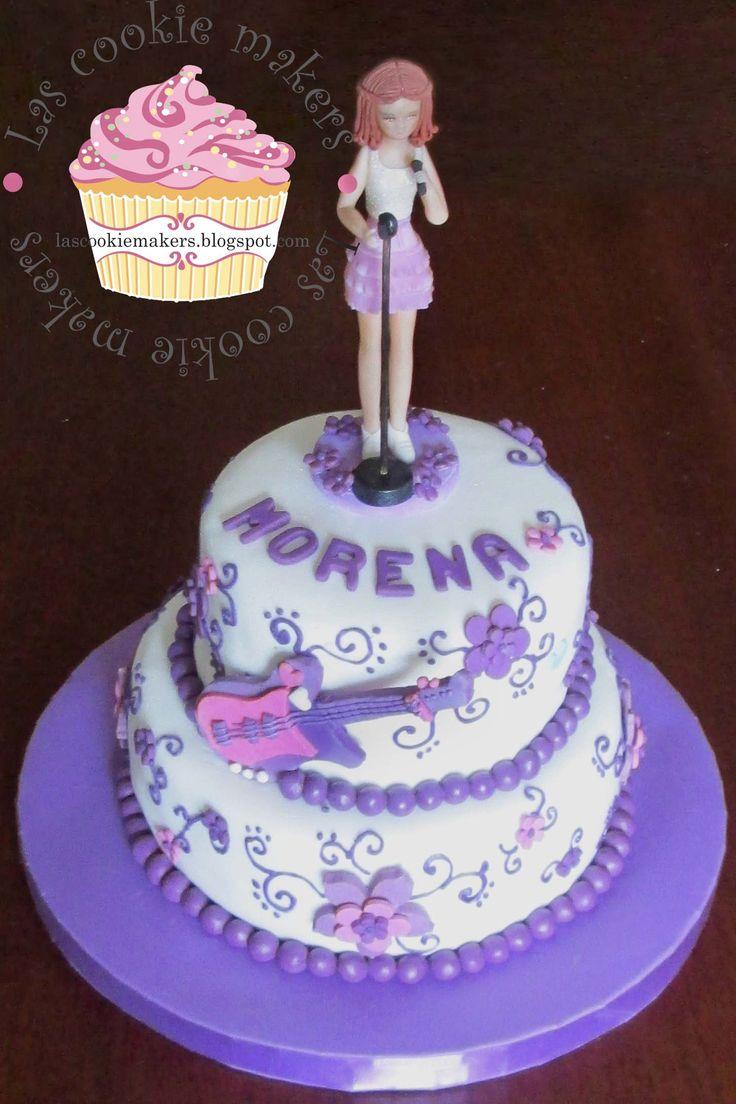 VIOLETTA CAKE- TORTA DE VIOLETTA lascookiemakers@gmail.com