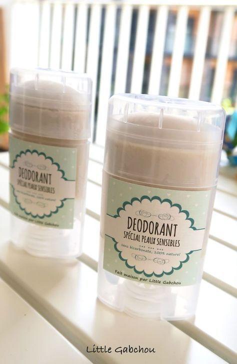 DIY déodorant fait maison peaux sensibles