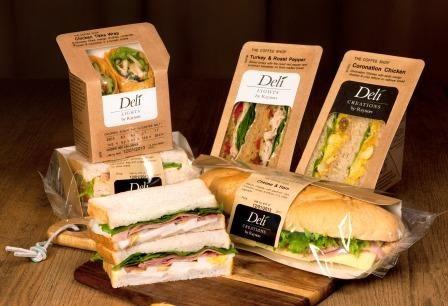 sandwich packaging - Recherche Google                                                                                                                                                     More