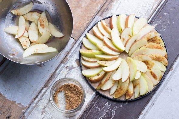 Glutenvrije & vegan appeltaart