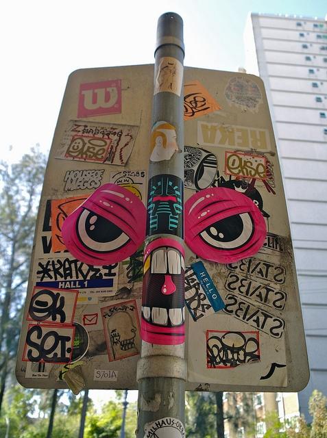 Stickers tumblr repinned by www gers nl · sticker street artsticker