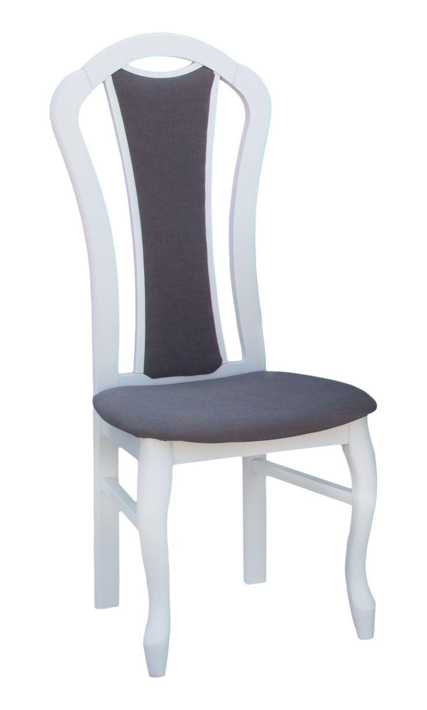 Bardzo klasyczne i pięknie wykonane krzesło MADAM, to idealne rozwiązanie dla osób, które cenią sobie klasyczny i stylowy wystrój wnętrz. Ma wysokie oparcie, dzięki czemu jest bardzo komfortowe w użyciu. Krzesło to jest bardzo solidnie i starannie wykonane. Dostępne w kilku różnych wariantach kolorystycznych.