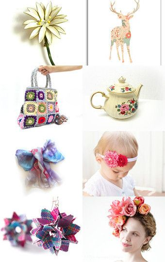 flower power .... by ArtmaVintage on Etsy--Pinned with TreasuryPin.com