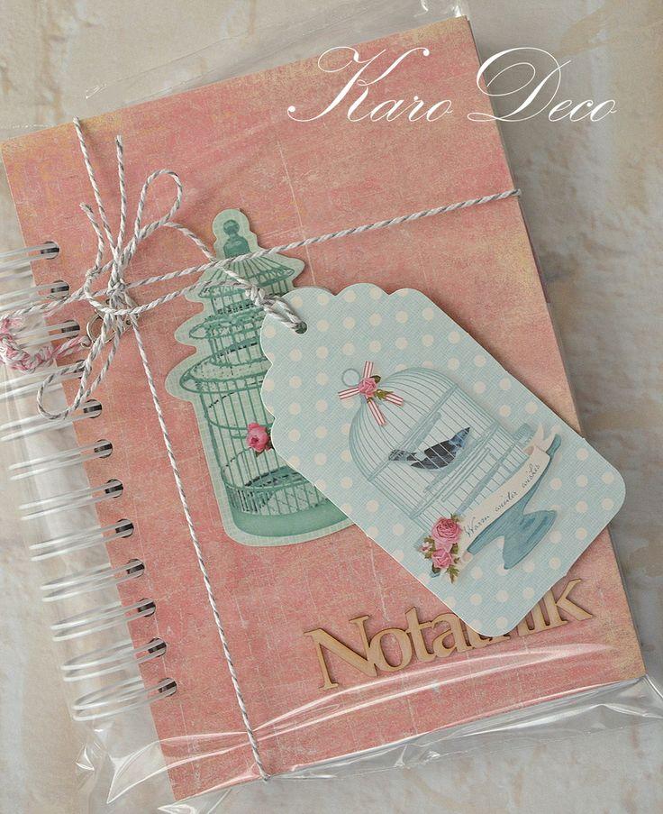 Notatnik/ planner, tilda
