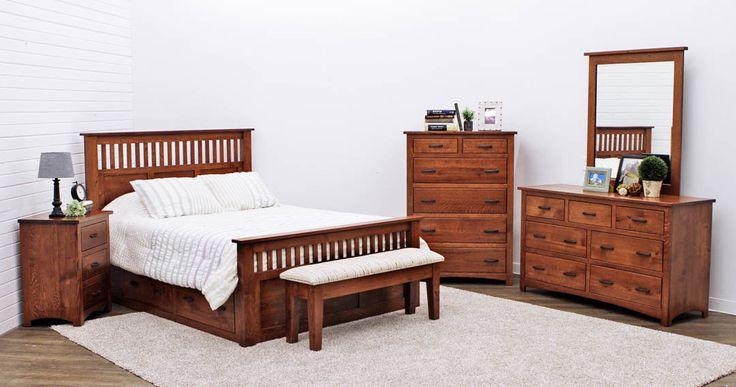 Craftsman Bedroom Set   Dutch Craft Furniture