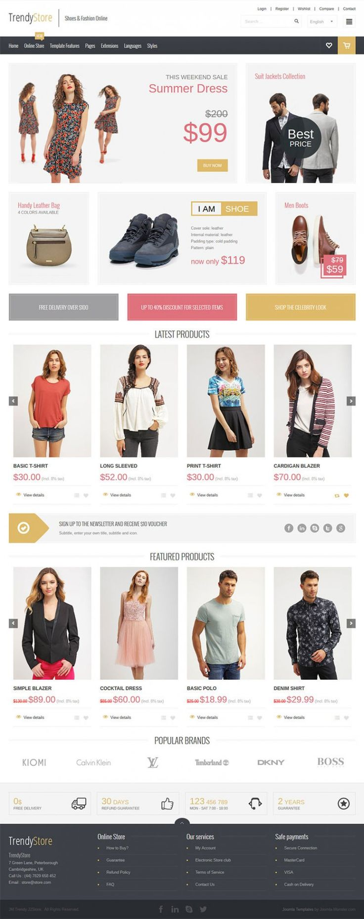 JM Trendy J2Store - online store Joomla template for Joomla 3 that provides a complete solution for those who are going to sell products online.  #online #store #Joomla #template #products  https://www.joomla-monster.com/joomla-templates/i/139-jm-trendy-j2store