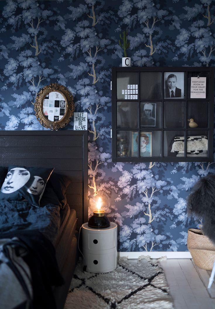 Bedroom | Wallpaper Raphael | Sandberg Wallpaper | blogg5.jpg