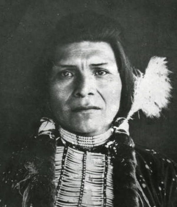 Nez Perce people ... Chief Joseph in his younger years