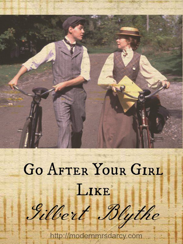 Go after your girl like Gilbert Blythe. Okay, so maybe Gilbert is a fictional character. But it's fun to imagine what advice he would give to other guys in his shoes. Here are his top 11 tips for getting the girl.