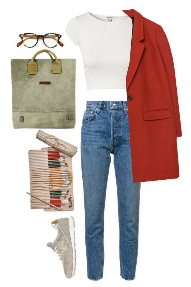 """""""Untitled #60"""" by nagy-bori on Polyvore featuring 10 Crosby Derek Lam, Oliver Peoples, River Island, Zara, Studio 36 and New Balance"""