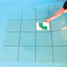 transparante mat