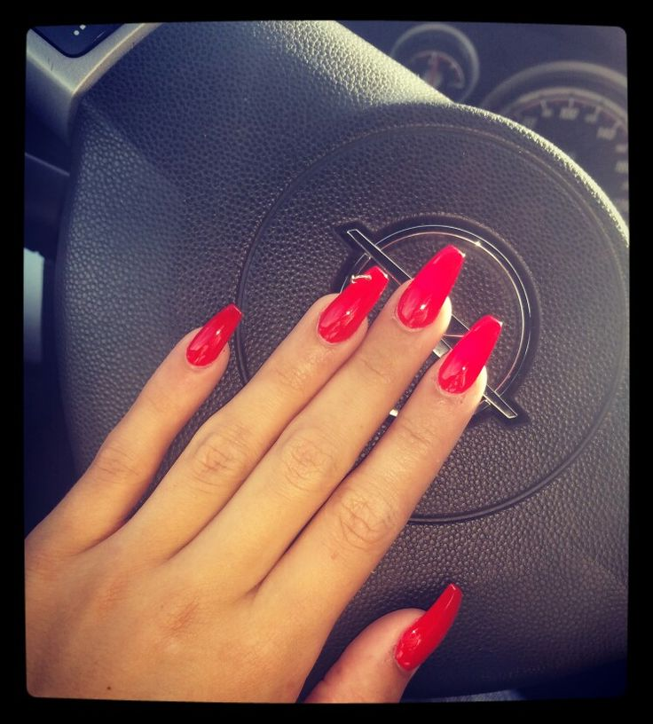 #rednails #lovetonails #mynails #piercingnails