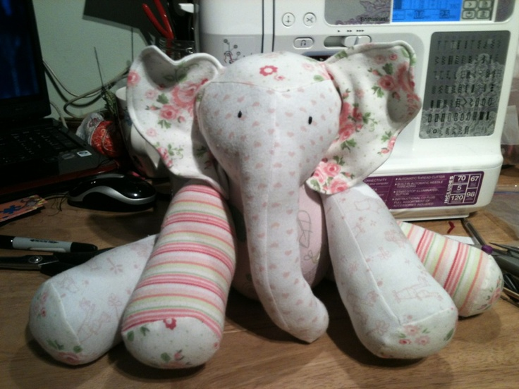 This company takes your old baby clothes and create these cute stuffed animals!! ($35)
