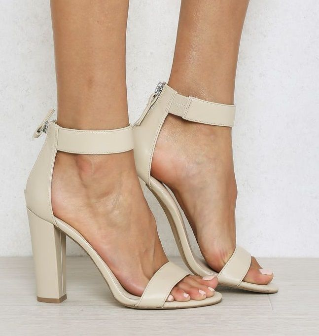 Easy on and off with heel zip, this nude style will take you from work to play all day. LIPSTIK GADA COSMETIC NUDES