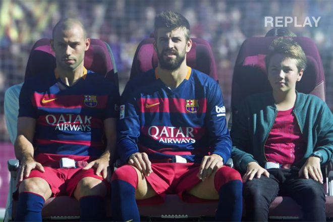 Viu essa? Vídeo c/ instruçoes de segurança no voo traz elenco estrelado do Barcelona - Blue Bus