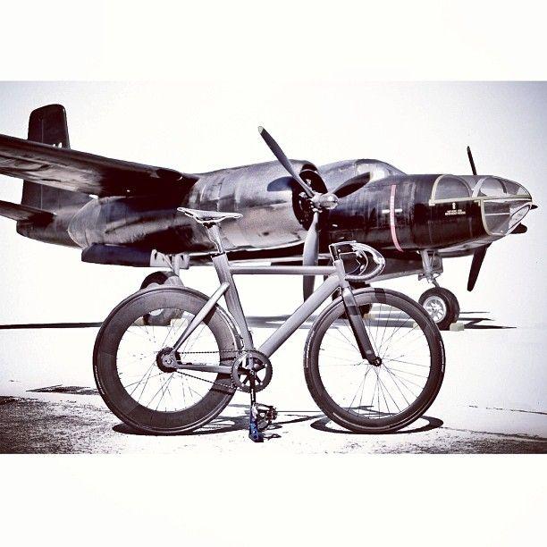 Plane and bike