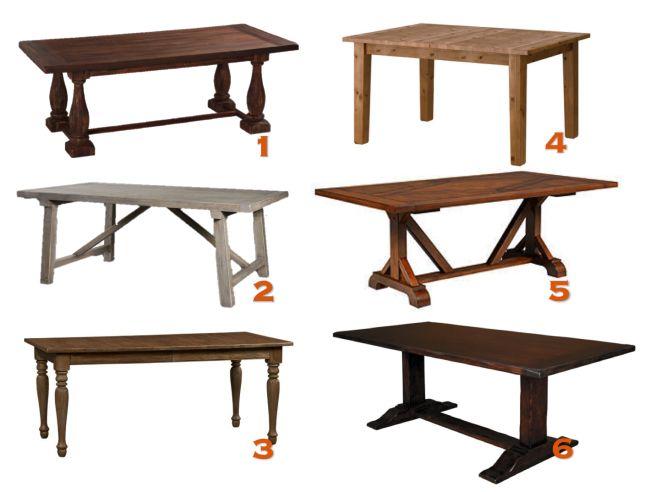 home design sleek this large farmhouse table with diy farmhouse