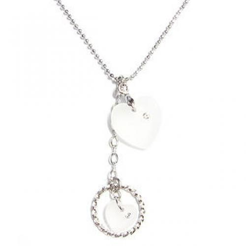 `Love Pendulum` June Birthstone Necklace - Moonstone