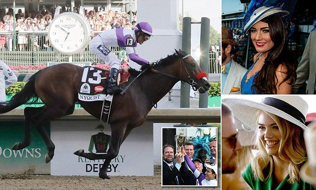 Nyquist romps to victory in the Kentucky Derby #DailyMail | These are some of the stories. See the rest @ http://twodaysnewstand.weebly.com/mail-onlinecom or Video's @ http://www.dailymail.co.uk/video/index.html
