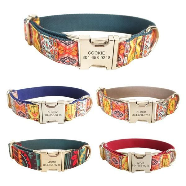 Personalized Dog Collars Leash Personalized Dog Collars Cute