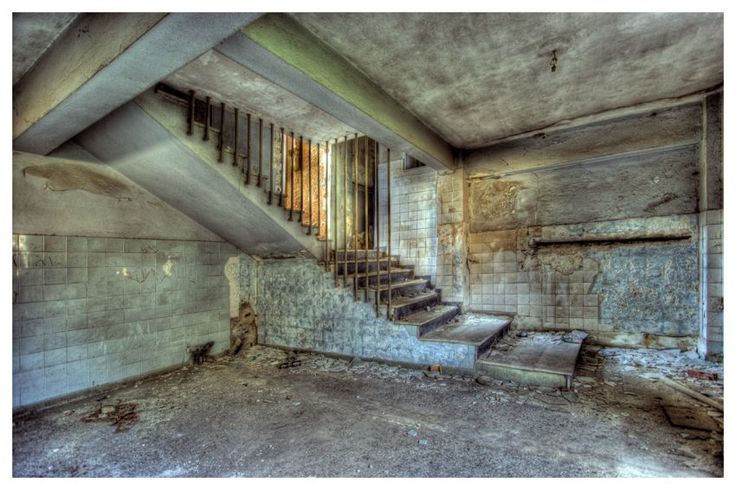 Basement in abandoned house past life pinterest for Houses with basements in california