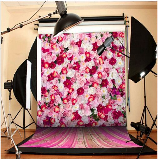 Hot Floral Photography Background Vinyl Backdrops For Photography Fond Photographie Baby Newborn Backgrounds For Photo Studio