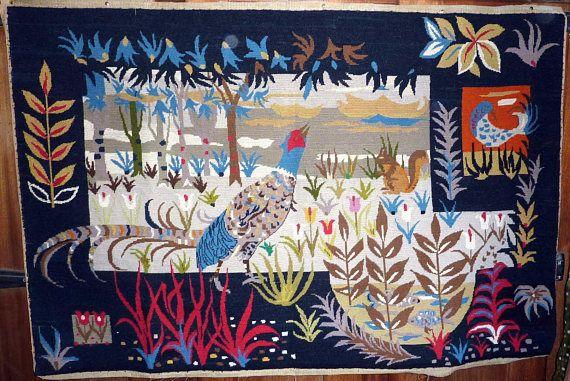 Les 137 meilleures images du tableau tapisserie canevas - Tapisserie annee 70 ...